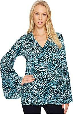 Big Cat Bell Sleeve Tunic