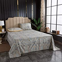 Softta Western Bedding Set Queen Size Vintage Girls Teens 4Pcs Deep Pocke Bed Sheets Sets 100% Egyptian Cotton Luxury Bedr...