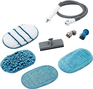 Black+Decker 百得 8 件套配件套装 SteaMitt 蒸汽手套 灵活软管 包括各种垫子和刷子 适用于以下型号 FSH10SM FSH10SM1 FSH10SMP