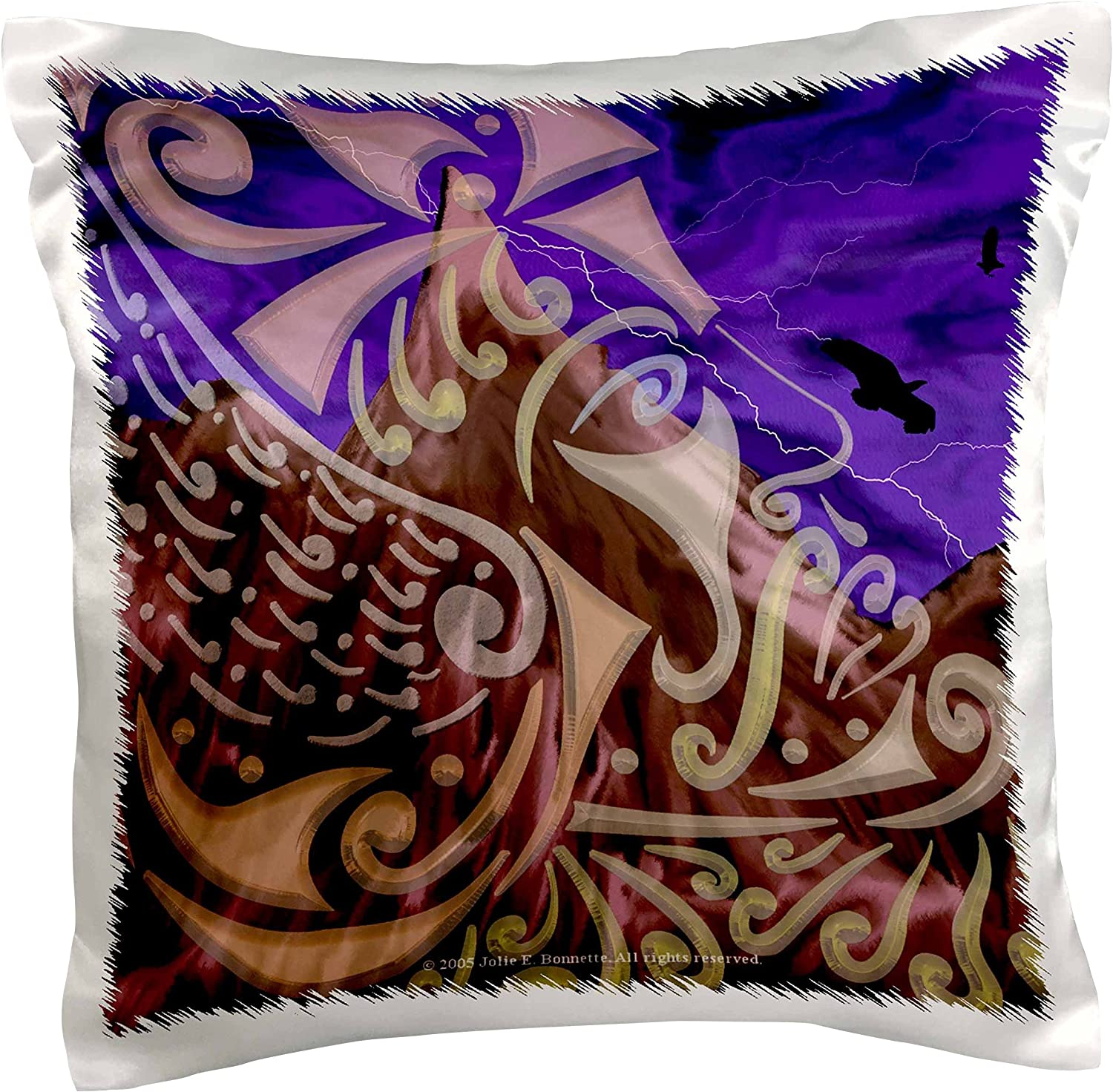 3drose Pc 23199 1 Thor Mythology Tribal Abstract Norse Pagan Asatru Pillow Case 16 By 16 Arts Crafts Sewing