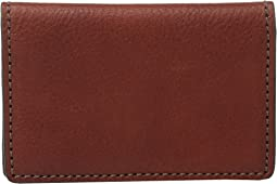 Bosca - Washed Collection - Gusseted Card Case