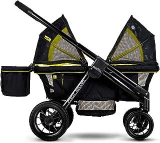 Evenflo Pivot Xplore - Vagón doble para carriola, todo terr