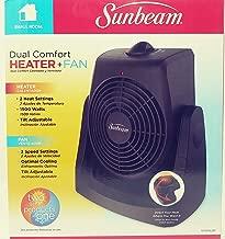 Sunbeam Dual Comfort Heater and Fan - Black