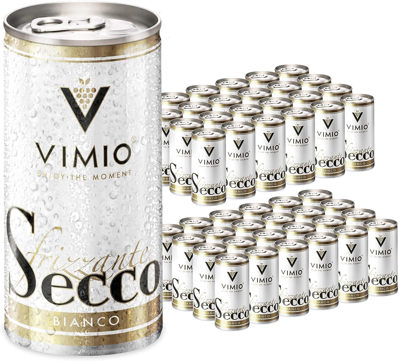 48 x Vimio Frizzante Secco bianco 10.5% vol 200 ml lata