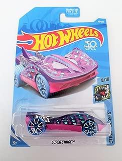 Hot Wheels 2018 50th Anniversary Super Stinger (Stingray Car) 90/365, Purple and Pink