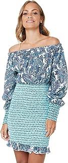 Tigerlily Women's PATHA Shirred Dress