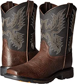 Ariat Kids - Workhog Wide Square Toe (Toddler/Little Kid/Big Kid)
