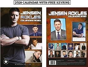 Jensen Ackles Unofficial Calendar 2020 + Jensen Ackles Keychain