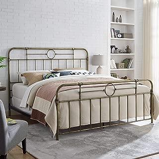 king size antique metal bed frame