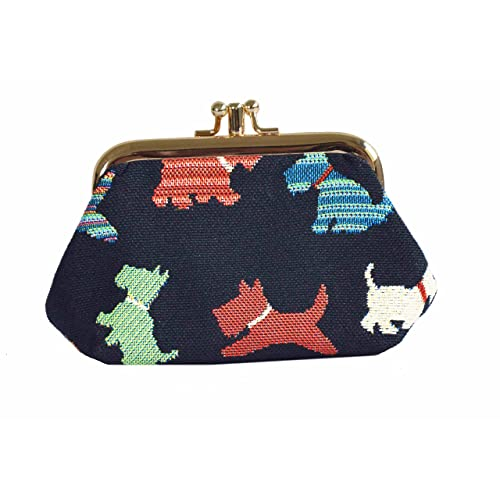 Fashion Women's Cute Classic Exquisite Double Pockets Coin Purse by Signare