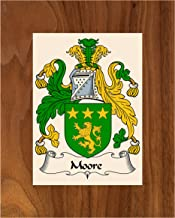 Carpe Diem Designs Moore Coat of Arms/Moore Family Crest 8X10 Photo Plaque, Personalized Gift, Wedding Gift
