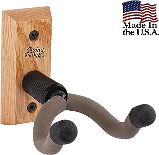 String Swing CC01KOAK Hardwood Home & Studio Guitar Hanger