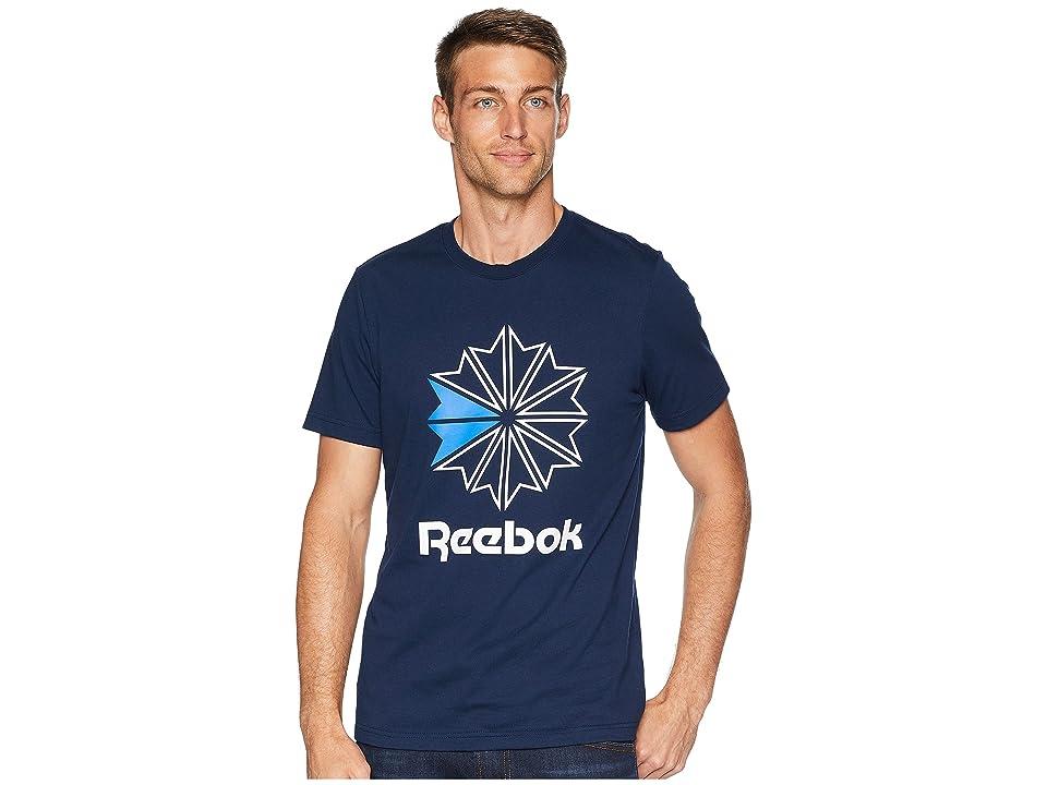 Reebok Classics Starcrest T-Shirt (Navy) Men