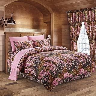 pink camo comforter queen