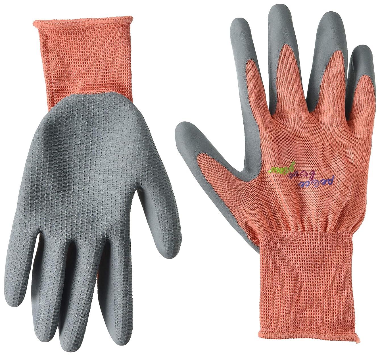 Midwest Gloves & Gear 66H8MEL-M-AZ-6 EZ Grip Gloves, Medium Melon