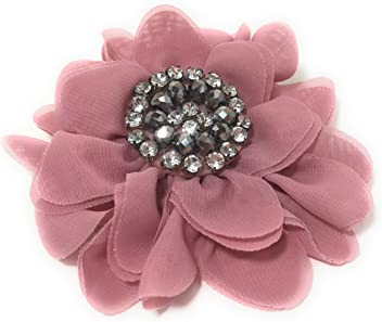 Silver Chicky Chicky Bling Bling Womens Luxurious Scalloped Rhinestone Headband