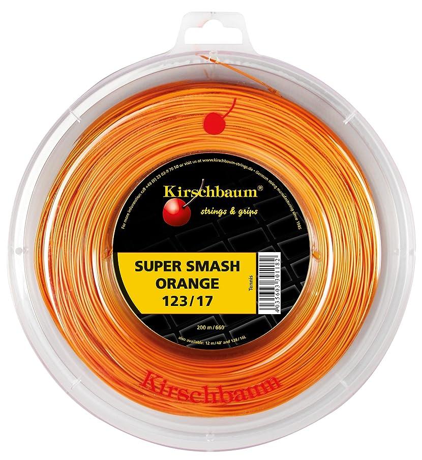 思慮深い検索エンジンマーケティングラインナップKirschbaum(キルシュバウム) Super Smash Orange 123-200m roll KB-SSOR-R オレンジ 123