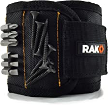 RAK Magnetic Wristband with Strong Magnets for Holding Screws, Nails, Drill Bits –..