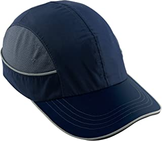 Safety Bump Cap, Baseball Hat Style, Breathable Head Protection, Long Brim, Skullerz 8950