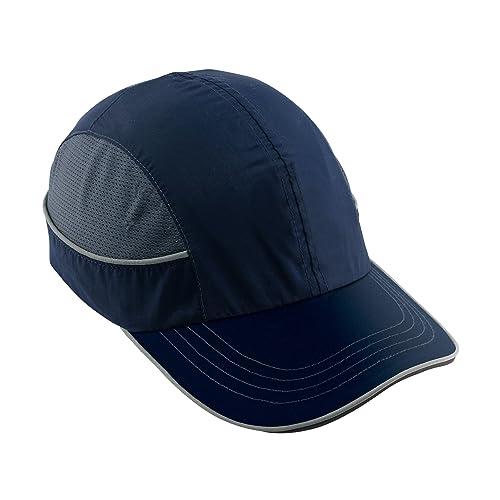 Safety Bump Cap, Baseball Hat Style, Comfortable Head Protection, Long Brim, Skullerz 8950