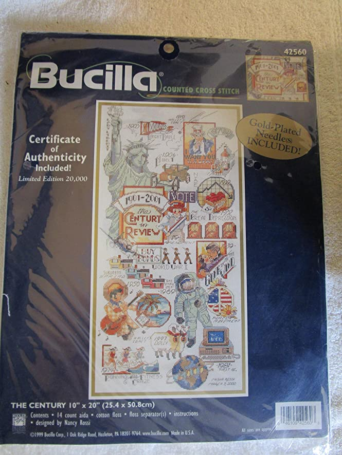 Bucilla Counted Cross Stitch