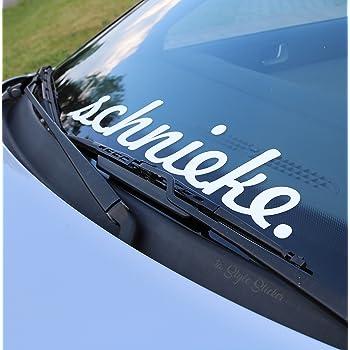 Limited Edition Auto Aufkleber Frontscheibe Außenklebend Tuning Sticker