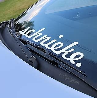 2-teilige vordere Sto/ßstangenabdeckung Lip Car Styling ABS-Sto/ßstange Nur f/ür Sportversion f/ür BMW F30 3er M Style 2012-2018 Schwarz gl/änzend