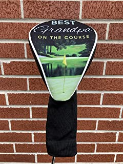 Best Grandpa Golf Head Cover