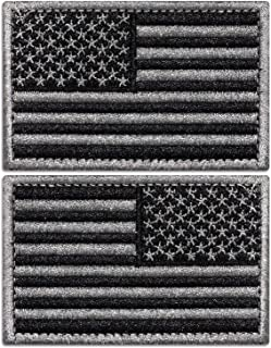 Anley Tactical USA Flag Patches Set - 2 Pack (Forward & Reversed) 2