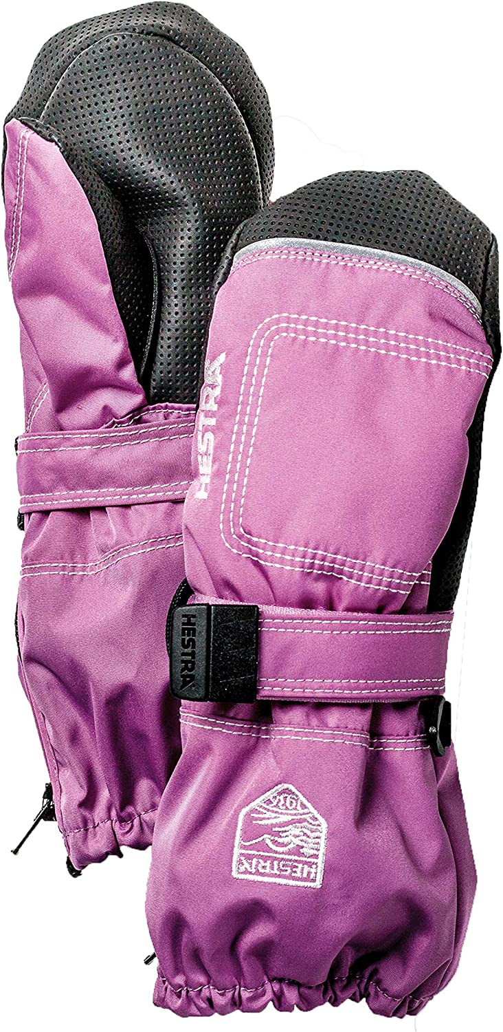 Hestra Baby Zip Long Mitten for Babies and Toddlers