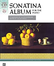 Sonatina Album: Comb Bound Book & 2 CDs (Alfred Masterwork CD Edition)