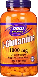 Now Foods L-Glutamine 1000 mg - 240 Capsules