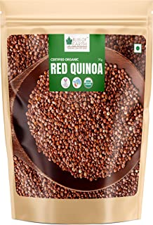 Bliss of Earth USDA Organic Red Quinoa 1 KG for Weight Loss, Raw Super Food