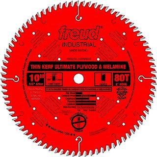 """Freud 10"""" x 80T Thin Kerf Ultimate Plywood & Melamine Blade (LU79R010)"""