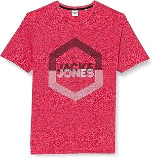 Jack & Jones Men's Jjdelight Tee Ss Crew Neck Ps T-Shirt