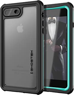 Ghostek Nautical Tough Waterproof Case Compatible with iPhone 8 Plus & iPhone 7 Plus - Teal