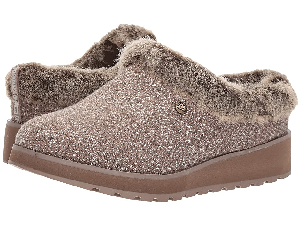 BOBS from SKECHERS Keepsakes High (Dark Taupe) Women