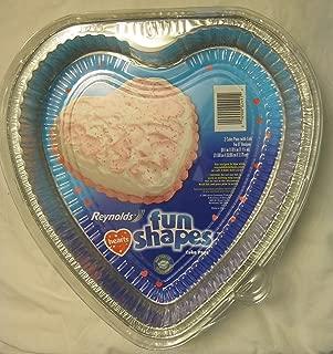 Best heart shaped foil baking pans Reviews