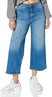 ONLY dames Jeans ONLMADISON LIFE HW WIDE CROP BB REA19093
