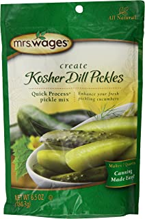 Mrs. Wages Kosher Dill, 6.5-Ounce Jars (Pack of  6)