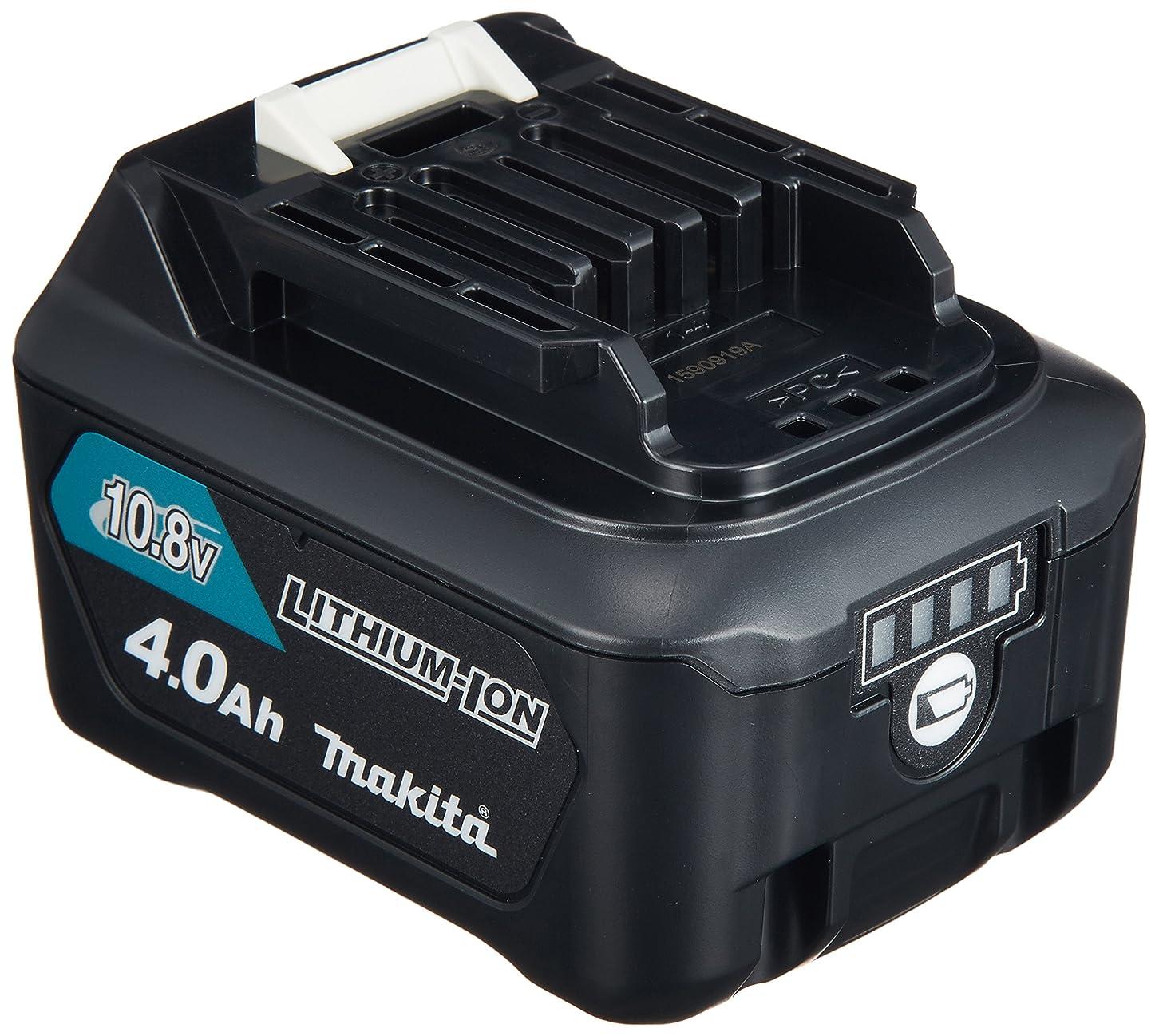 不毛ダウン解説マキタ(Makita)  リチウムイオンバッテリー BL1040B 10.8V 4.0Ah A-59863