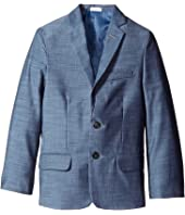 Calvin Klein Kids - Plain Weave Slub Jacket (Big Kids)