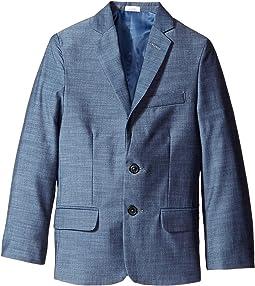 Plain Weave Slub Jacket (Big Kids)