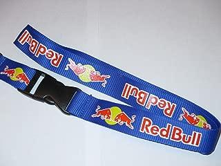 Lanyard Red Bull Key Chain Holder Us Seller