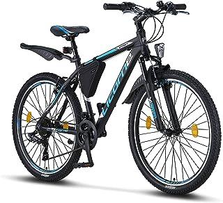 Licorne Bike Bicicleta de montaña prémium para niños, niñas, hombres y mujeres, cambio Shimano d