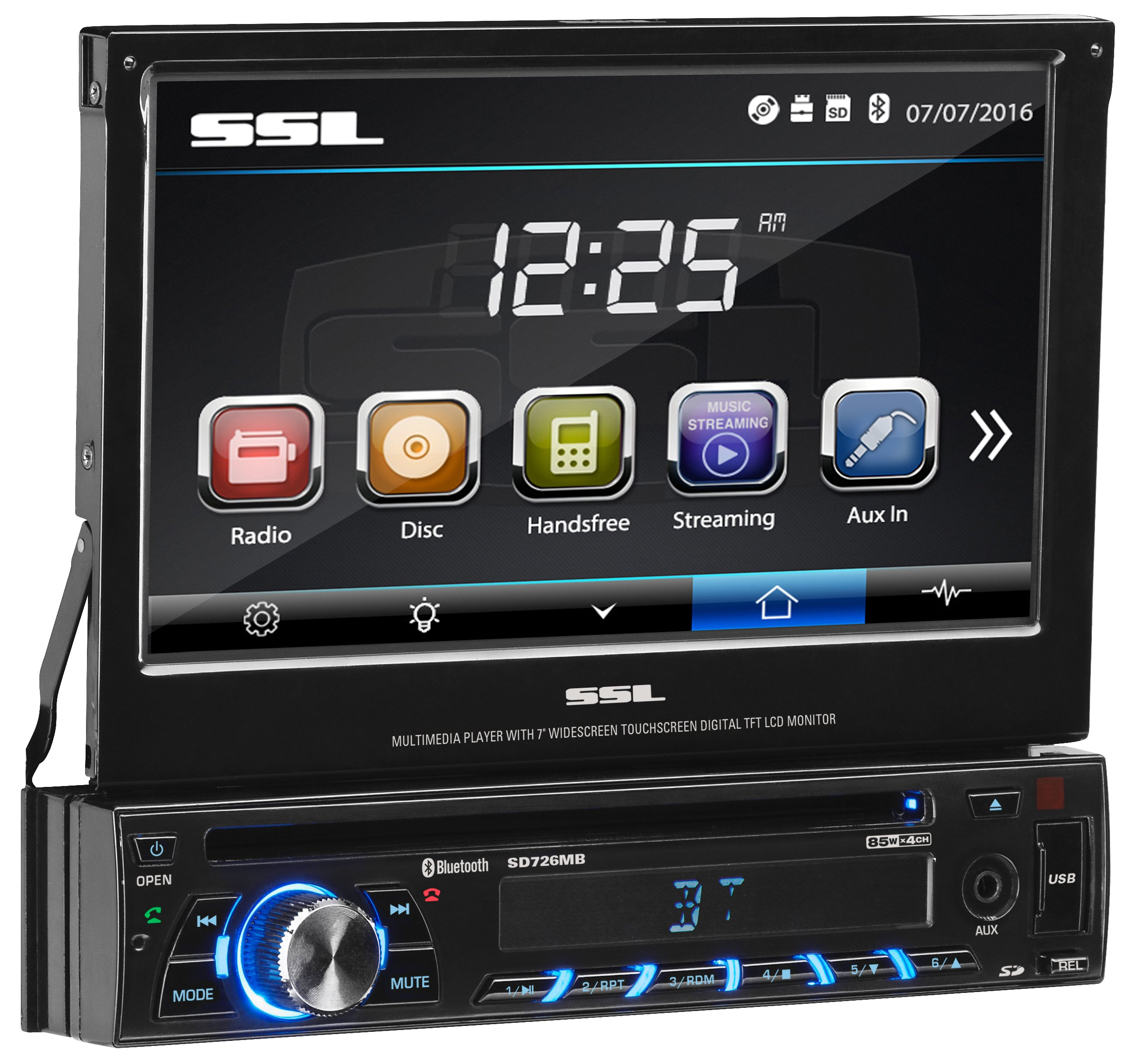 Sound Storm SD726MB Touchscreen Detachable