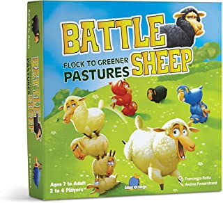 Blue Orange Battle Sheep Game
