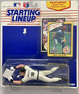 Pittsburgh Pirates Barry Bonds 1993 Kenner Starting Lineup Card