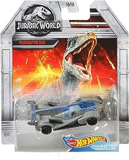 Hot Wheels Jurassic World Velociraptor Blue Vehicle