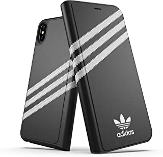 adidas Originals Moulded Case PU for iPhone Xs Max - Black/White